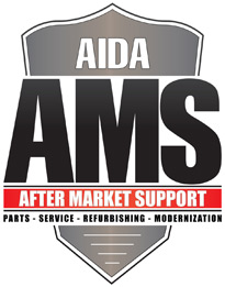AIDA AMS : After Market Solutions - Press Parts, Service, Refurbishing and Modernization