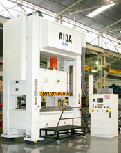 AIDA NSU Straightside Press at NAVA Hermanos S.A.