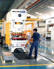 AIDA NC1-D Servo Press at NAVA Hermanos S.A.