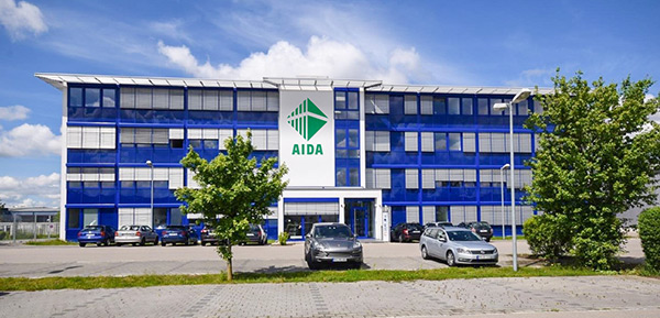 AIDA EUROPE GmbH new office building in Weingarten, Germany
