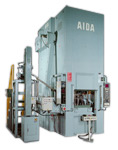 AIDA Large Capacity Single Point Straightside Press, K1-E