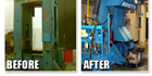 Forging Press Refurbishment Before and After, photo thumbnail