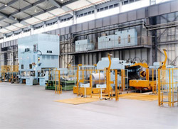 Photo of an AIDA Coil Feeder Line