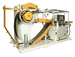 Photo of the AIDA LFM Servo Coil Straightener Feeder