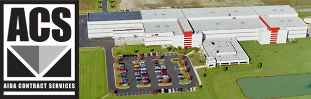 AIDA-America's 160,000 sq. ft. facility located in Dayton, Ohio