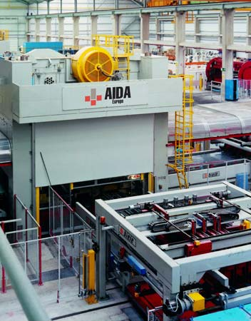 Blanking Press Lines Aida Straightside Mechanical