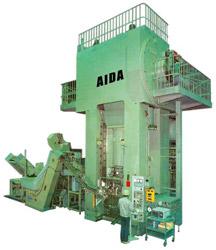 Photo of the AIDA CF1 Cold Forging Press