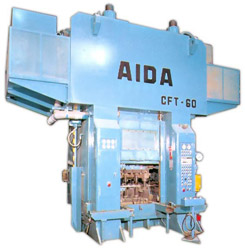 Photo of the AIDA CFT Cold Forging Transfer Press