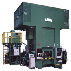 Photo of the AIDA FMX Cold Forging Press