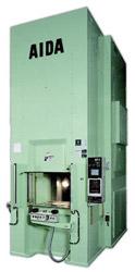 Photo of the AIDA K1-E Cold Forging Press Press