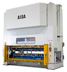 Photo of the AIDA MCX Straightside Mechanical Stamping Press