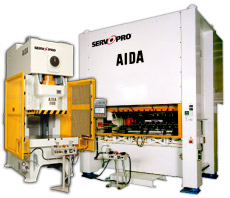 AIDA серво пресса, DSF-C1 и DSF-N2