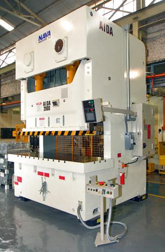 Gap Frame Presses Aida Nc2 Mechanical Gap Frame Stamping