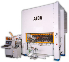 AIDA Servo Press Two Point Straightside : DSF-N2