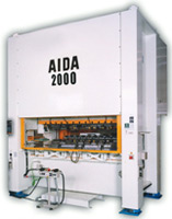 AIDA Two Point Straightside Press, NS2