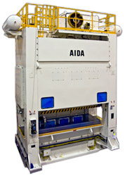 Photo of the AIDA NST-D Straightside Servo Press