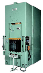 Photo of the AIDA S1-E Mechanical Двухстоечный пресс