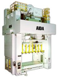 Photo of the AIDA DSF-S Straightside Servo Press