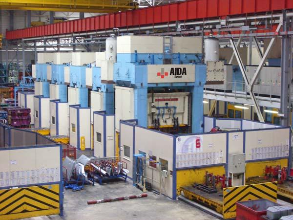 Tandem Press Lines Aida Mechanical Straightside Metal