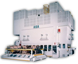 AIDA Large Capacity Transfer Straightside Press, TMX