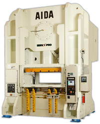 Photo of the AIDA DSF-U Straightside Servo Press