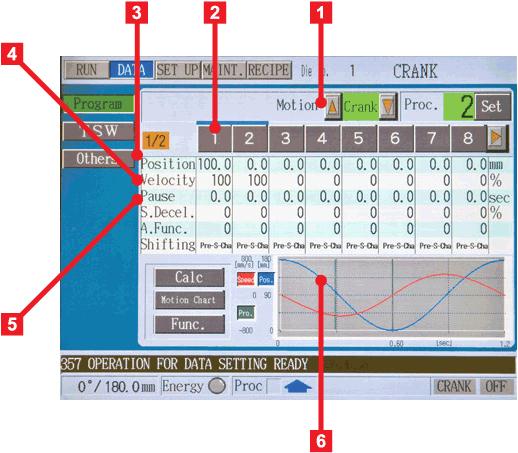 AIDA DSF Series Control